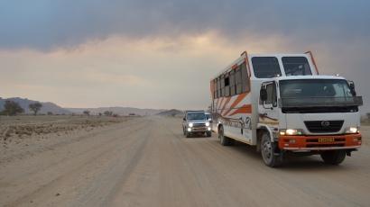 am Sossusvlei, Namibia