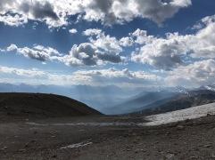 auf dem Mt Whistler