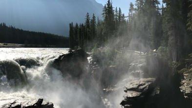 Athabasca Falls, Icefields Parkway