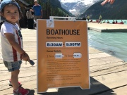 Berufswunsch: Kanuverleih am Lake Louise