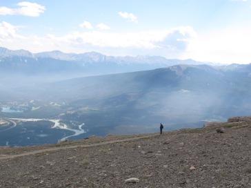 Auf dem Mount Whistler