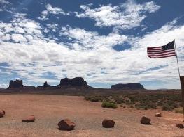 Grenze zum Navajo Land