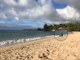 Burkini! Maui ist posh, viele Araber hier!