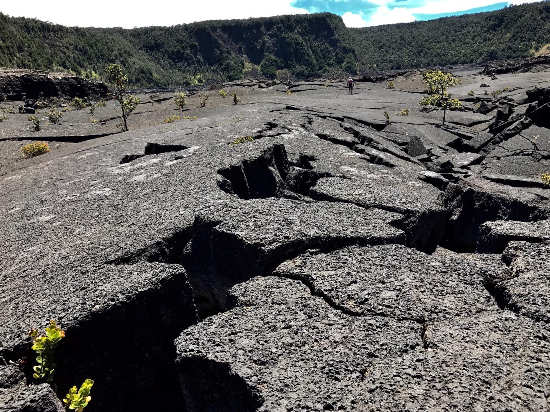 Im Kilauea Iki Crater