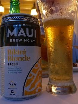 Lieblingsbier! (von wegen, es gibt kein Bier auf Hawaii :-9)