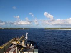Einfahrt Tuamotu Rangiora