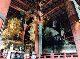16 Meter hohe Buddha Statue in Nara