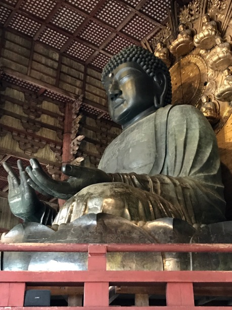 Buddha-Statue in Nara