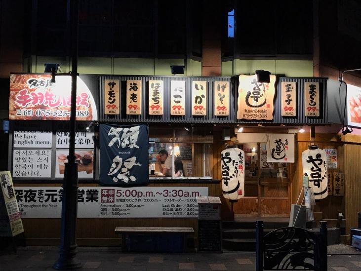 abends in Kyoto