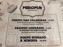 Restaurant O Miroma