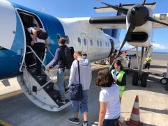 Sata - inter Azoren Flug