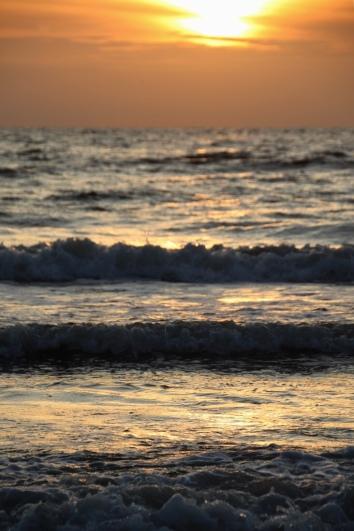 Sunset in Bergen aan Zee