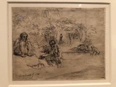 Zeichnung von Rembrandt