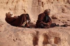 In Wadi Rum