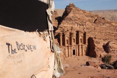 Petra - ganz oben, Kloster