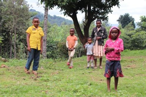 Wanderung durch die Dörfer